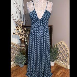 BCBG Low Cut Maxi Dress